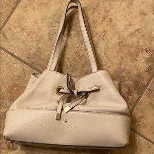 Authentic Kate Spade Ivory Leather Bag